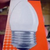 400 люмн на реальные 40 ватт лампа накаливания